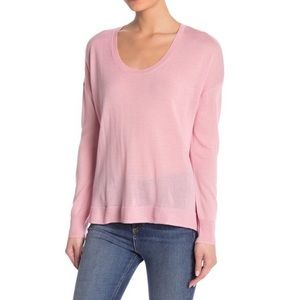 MADEWELL Southstar Pink Wool Blend Pullover XS